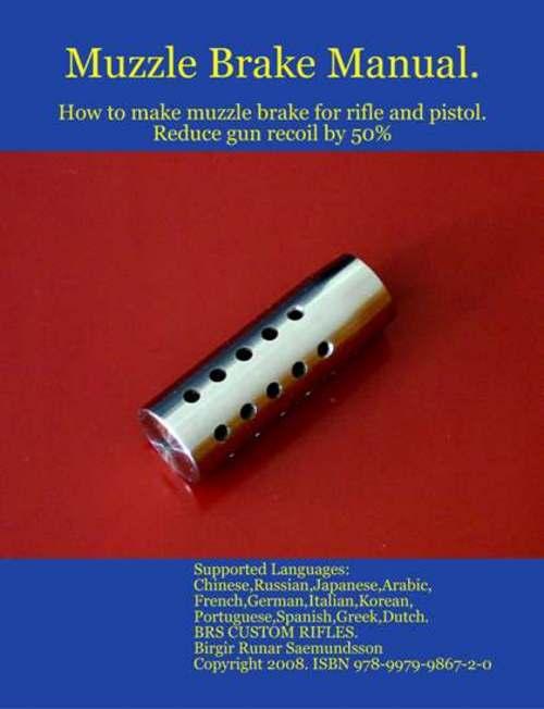 Product picture Rifle Muzzle Brake Recoil Compensator